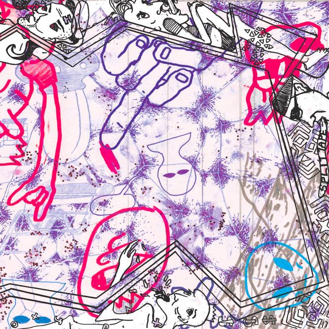 Joey Fourr / H. Grimace - Nothing Beats Reality (Split EP)