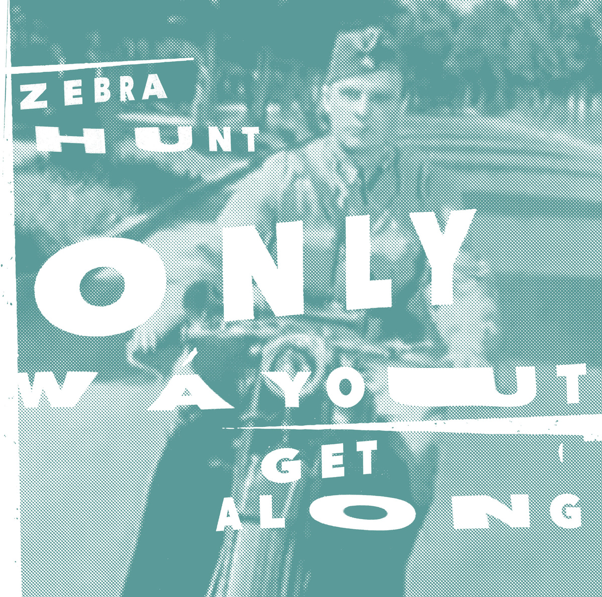 """Zebra Hunt - Only Way Out/Get Along 7"""" & Beaches Ep"""
