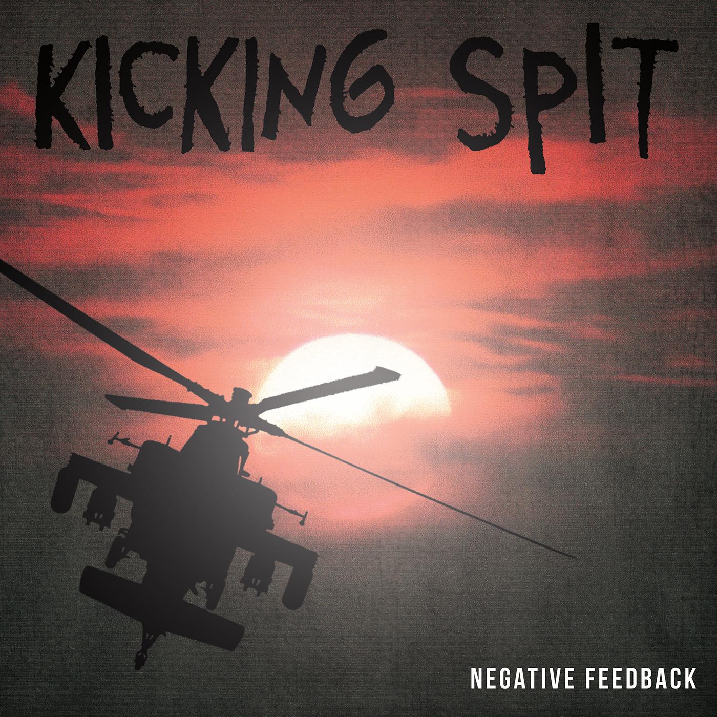 kicking spit