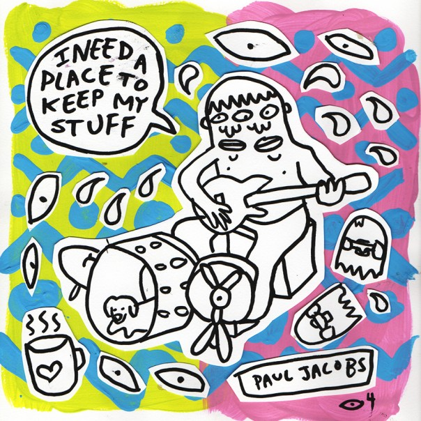 Paul Jacobs - I Need a Place to Keep My Stuff