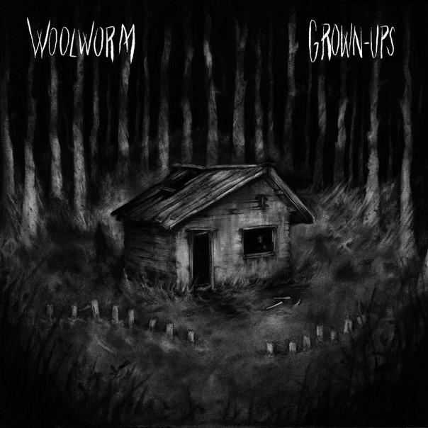 "Woolworm & Grown Ups - Split 7"""