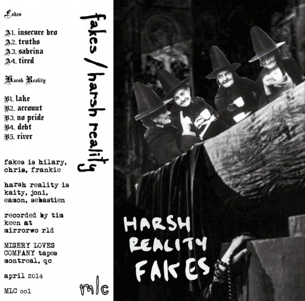 Fakes & Harsh Reality - Split Tape