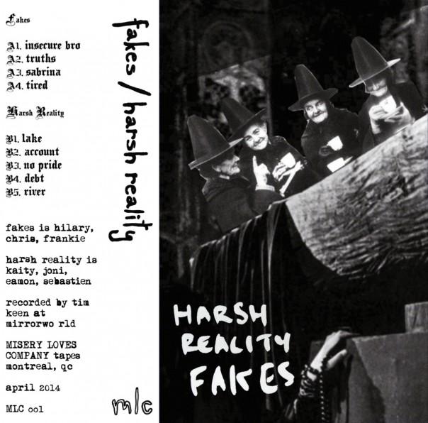 Fakes & Harsh Reality - Split Tape