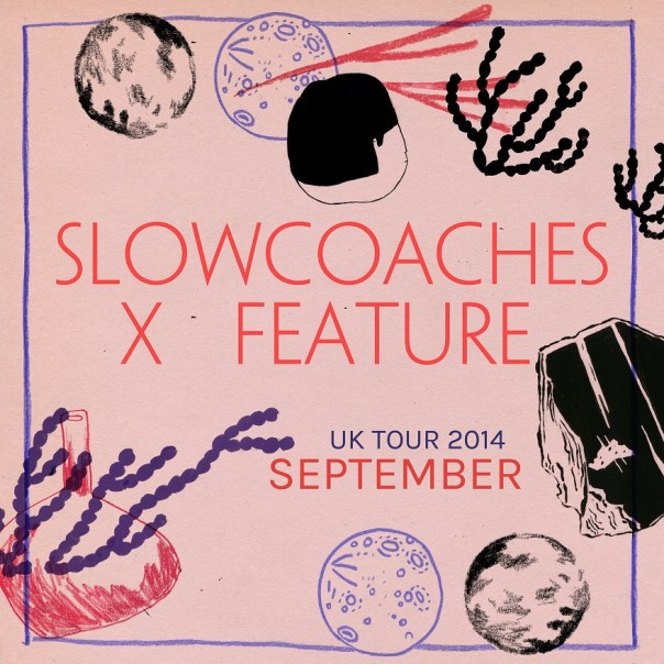 Feature & Slowcoaches - Tourists (Split EP)