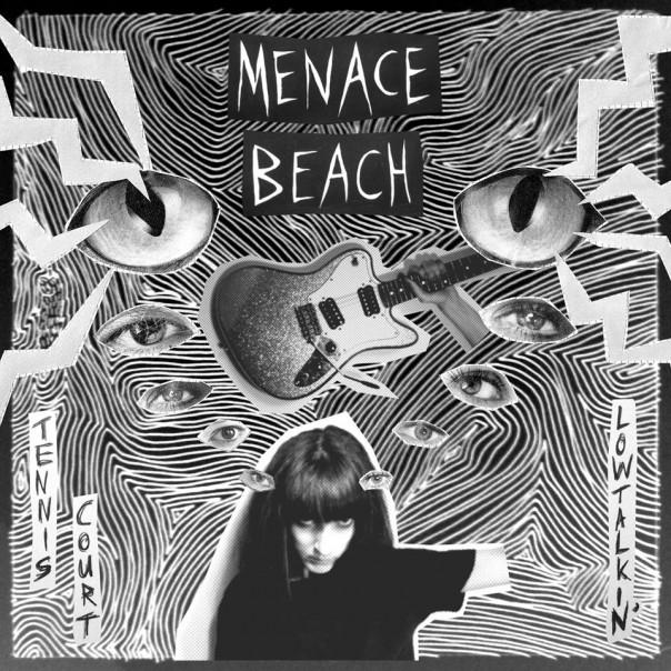 "Menace Beach - Tennis Court / Lowtalkin' 7"""
