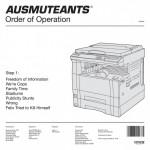 Ausmuteants - Order Of Operation