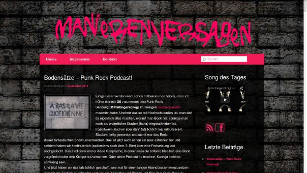 Bodensätze Punkrock-Podcast