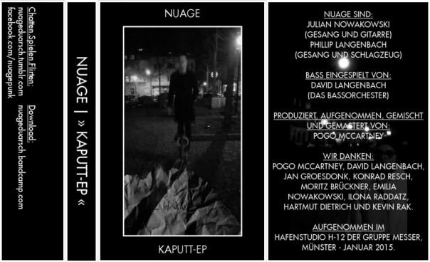Nuage - Kaputt EP