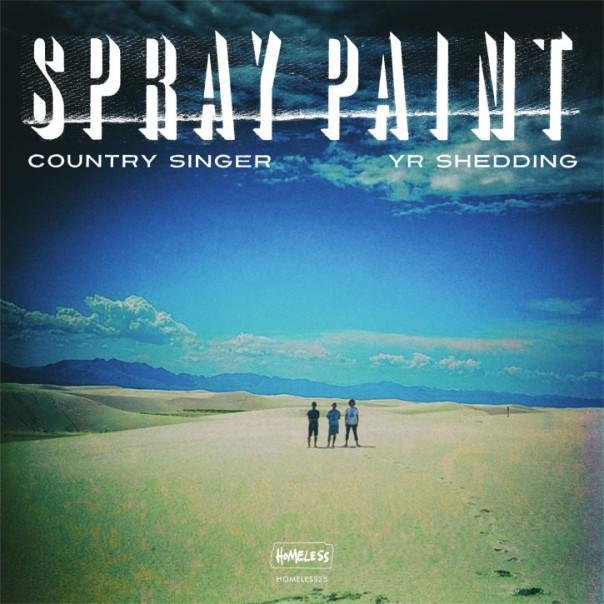 "Spray Paint & Exek - Australian Tour Split 7"""