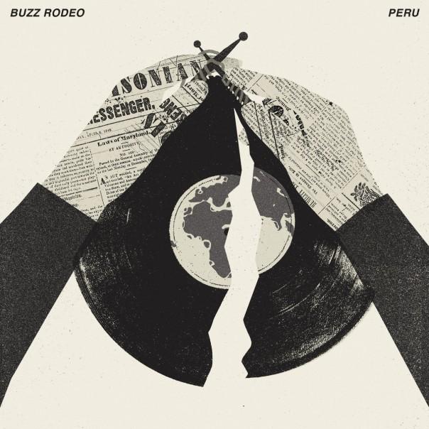 "Buzz Rodeo - Victoria 7"" / Buzz Rodeo & Peru - Split 10"""