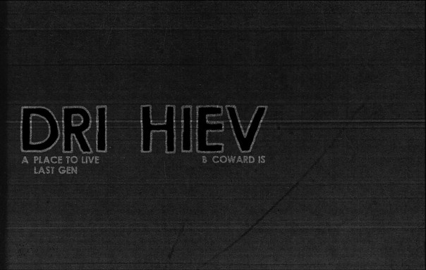 Dri Hiev - Place To Live