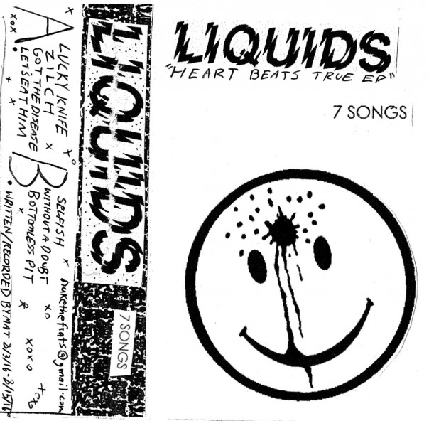 Liquids - Heart Beats True EP / Liquids 7""