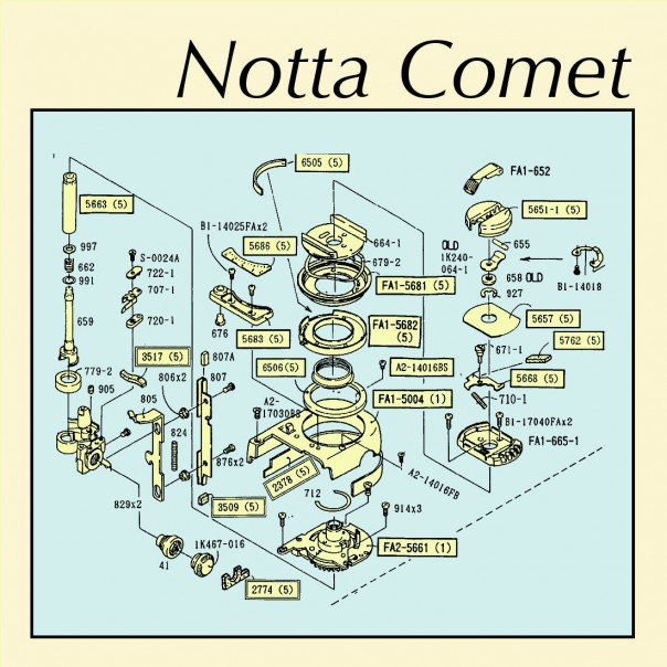 Notta Comet - Embankments