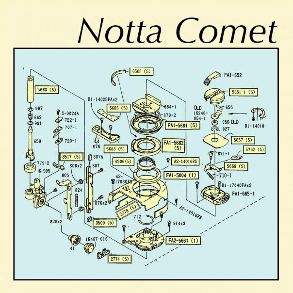 Notta Comet - Embankments