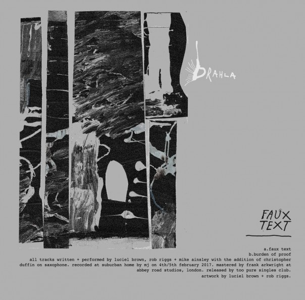 Drahla - Faux Text