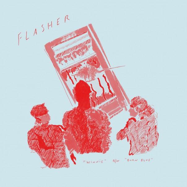 "Flasher - Winnie/Burn Blue 7"""