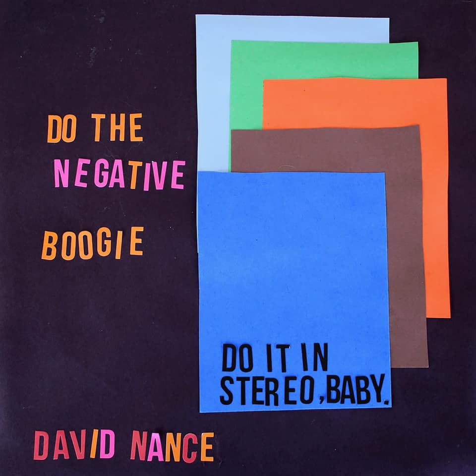David Nance - Negative Boogie