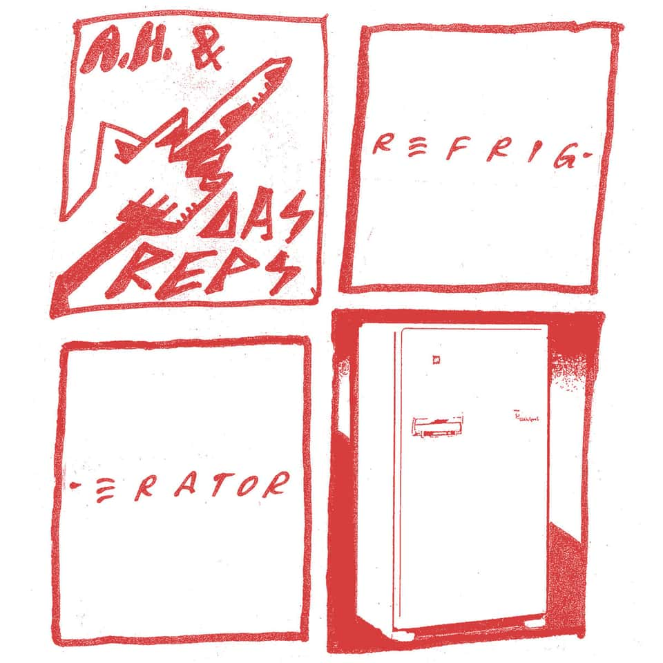 "Andy Human and the Reptoids - Refrigerator 7"" / Sarcastic 7"""