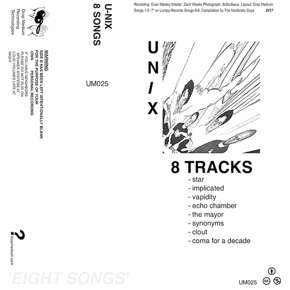 U-Nix - 8 Songs