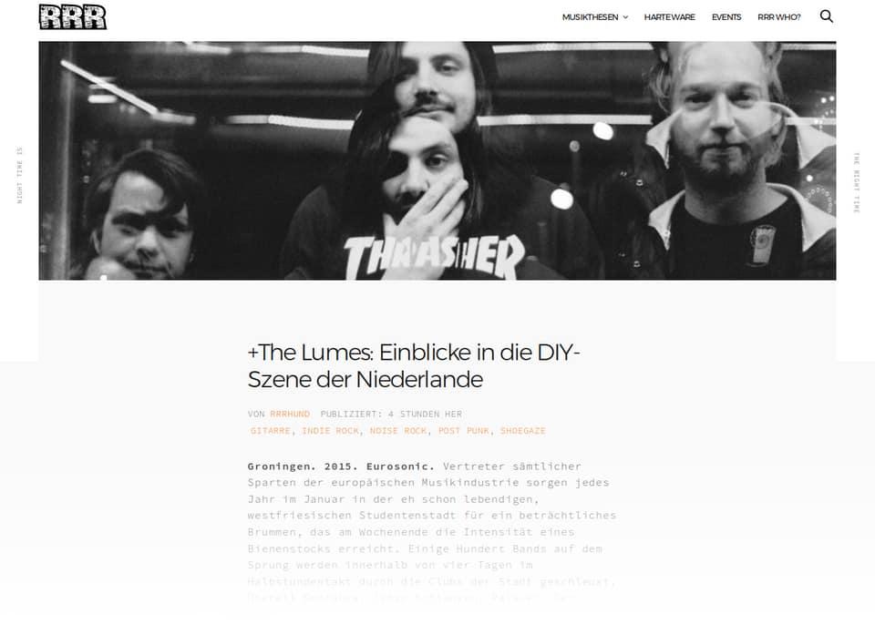 The Lumes und DIY in den Niederlanden