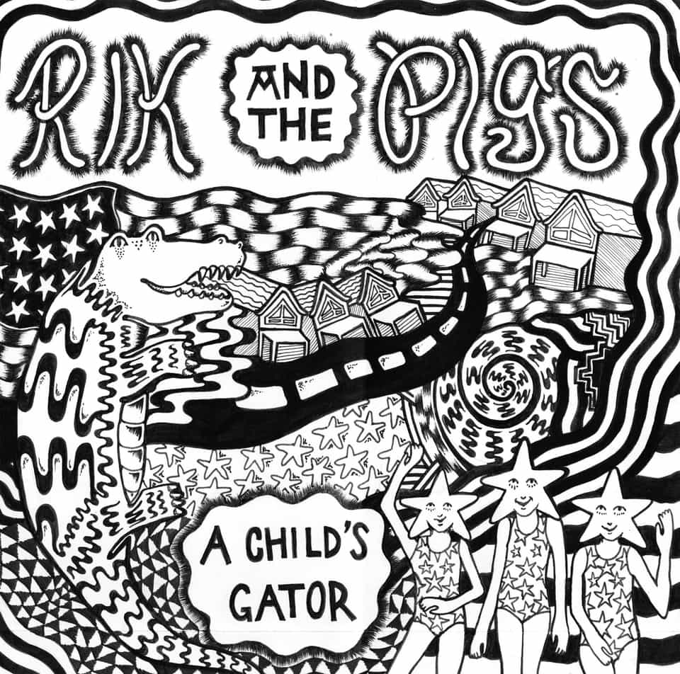 Rik & The Pigs - Blue Jean Queen / A Child's Gator