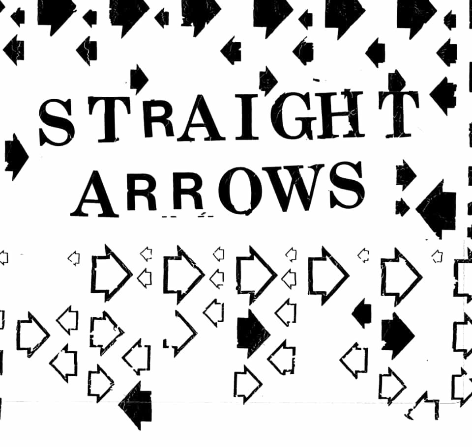 Straight Arrows - Out & Down / Franchisee 7""