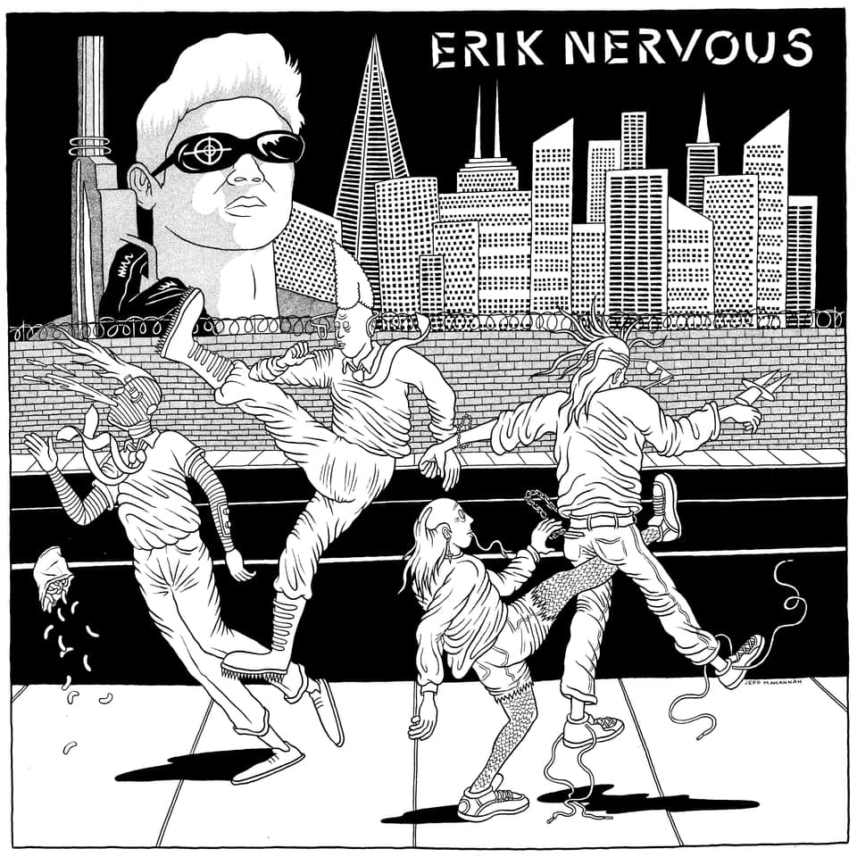 (The) Neo Neos + Erik Nervous & The Beta Blockers - Split 7""