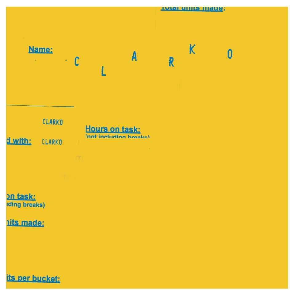 "Clarko - Medeocre Man 7"""