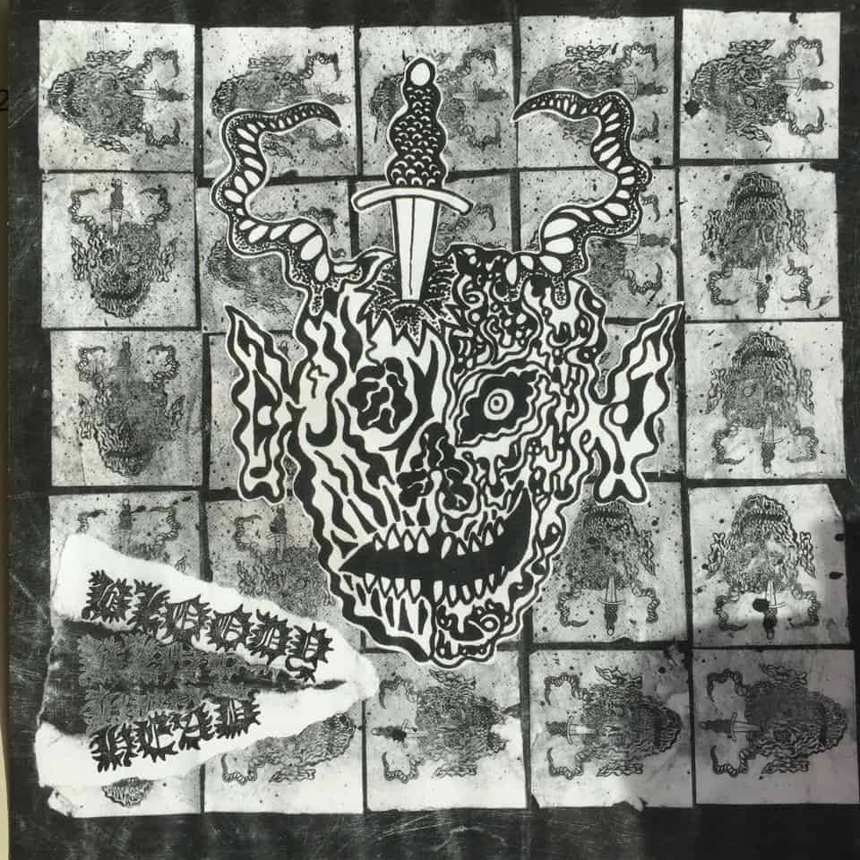 "Bloody Head - Narco Bulldozer / Black Dog Blues 7"""