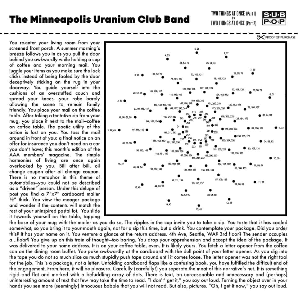Uranium Club - Two Things At Once
