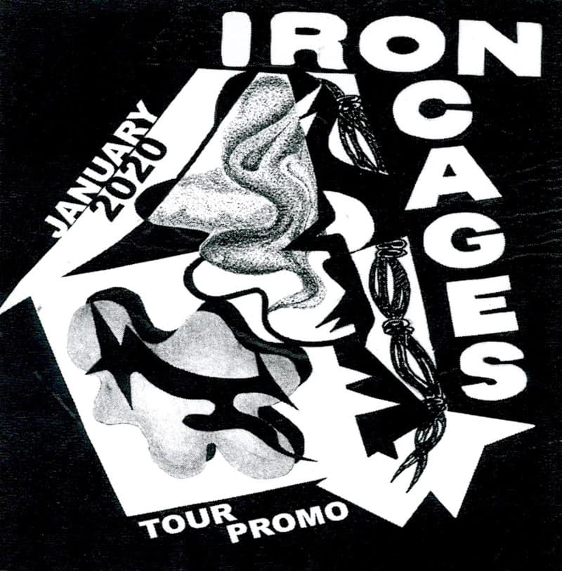Iron Cages - January 2020 Tour Promo