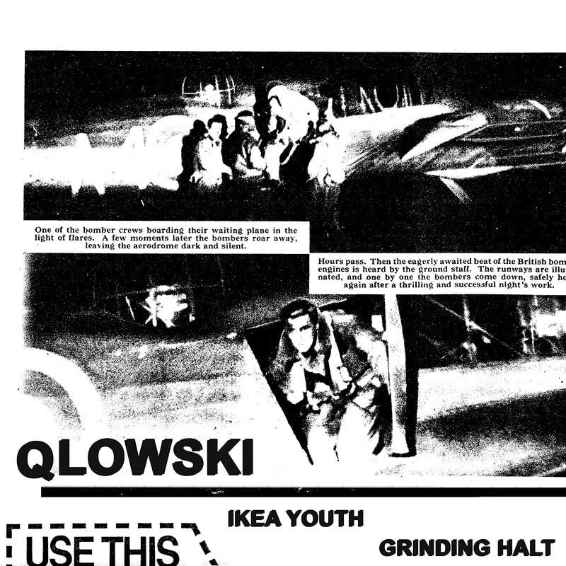Qlowski - Ikea Youth / Grinding Halt
